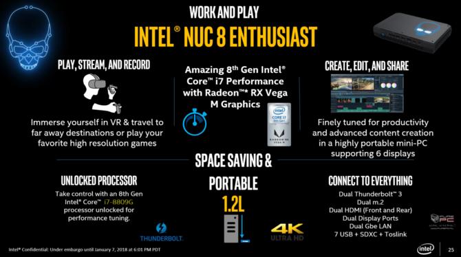 Intel prezentuje procesory Kaby Lake-G z układami AMD Vega [17]