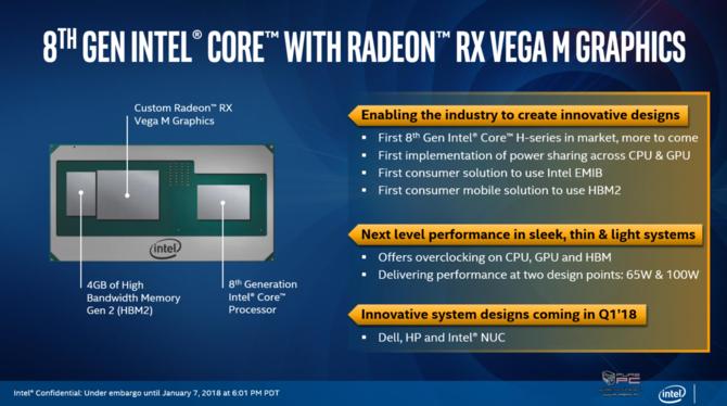 Intel prezentuje procesory Kaby Lake-G z układami AMD Vega [3]