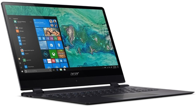 CES 2018: Acer prezentuje ultrabooka Swift 7 (2018) z LTE [2]