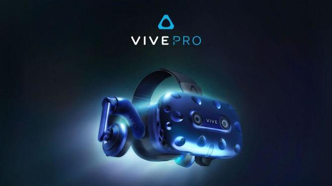 CES 2018: HTC prezentuje dopakowane gogle HTC Vive Pro [1]