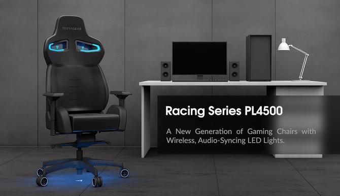 CES 2018: Vertagear PL4500 - fotel z podświetleniem LED RGB [1]