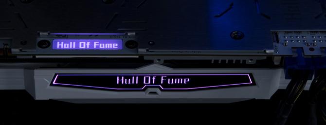GALAX GTX 1070 Ti Hall of Fame - Karta z wyświetlaczem LCD [3]