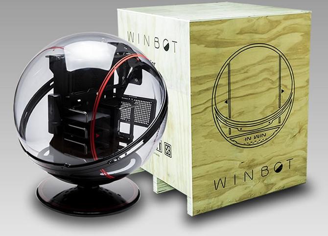 CES 2018: In Win Winbot - Kosmiczna obudowa za 3500 dolarów [1]