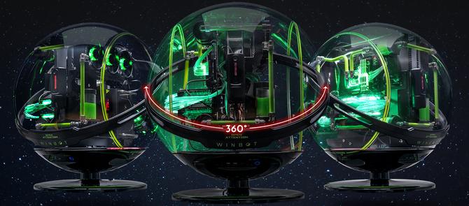 CES 2018: In Win Winbot - Kosmiczna obudowa za 3500 dolarów [2]