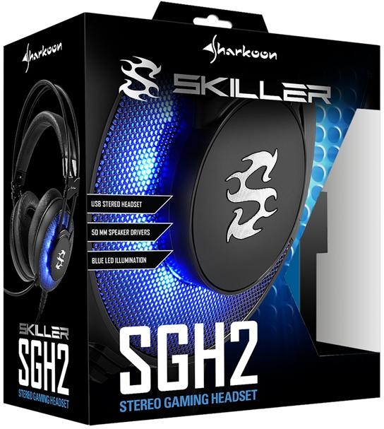 Sharkoon SGH2 - nowe słuchawki z wbudowaną kartą dźwiękową [2]