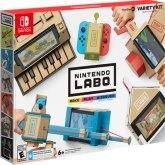 Nintendo Labo kartonowe opakowanie Switcha za... 70 dolarów
