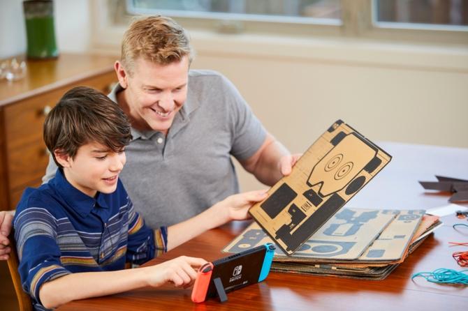 Nintendo Labo kartonowe opakowanie Switcha za... 70 dolarów [1]