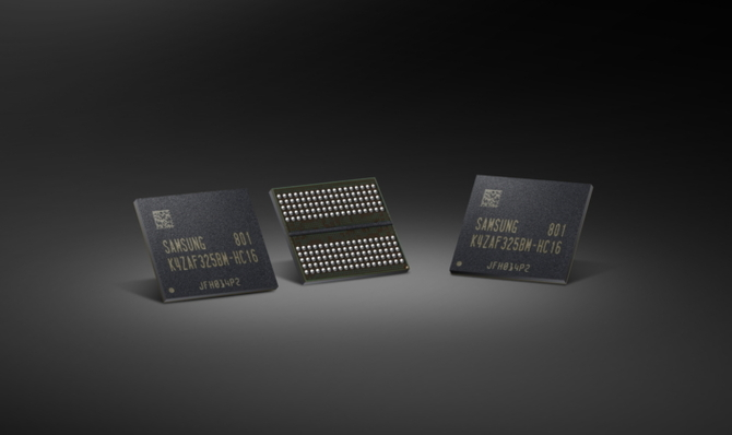 Samsung już masowo produkuje 16-gigabitowe pamięci GDDR6 [1]