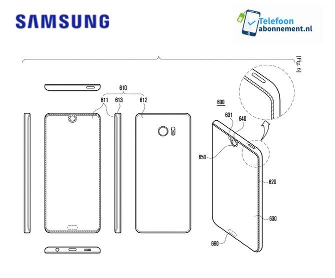 Samsung patentuje nowy nowy rodzaj bezramkowego wyswietlacza [1]