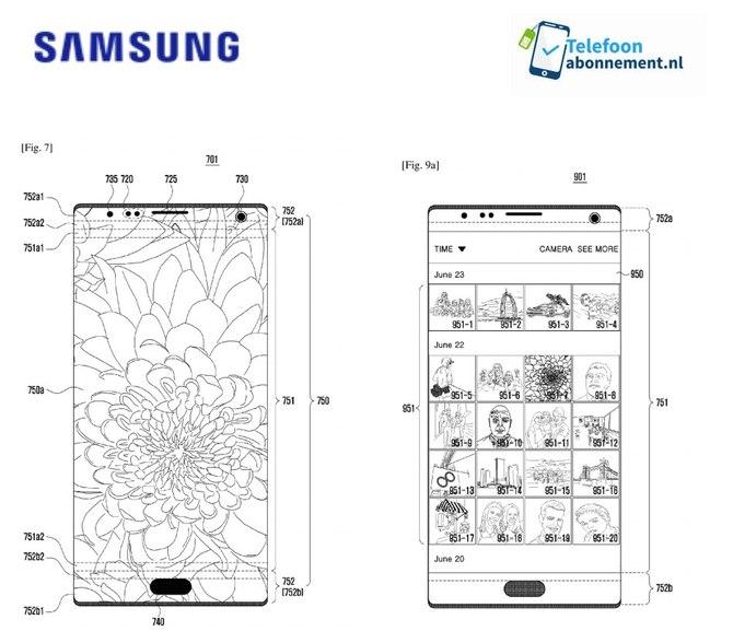 Samsung patentuje nowy nowy rodzaj bezramkowego wyswietlacza [3]