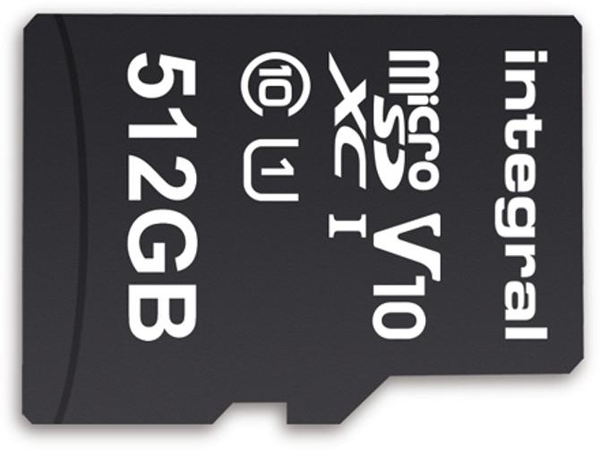 Integral Memory szykuje kartę microSD o pojemności 512 GB [1]