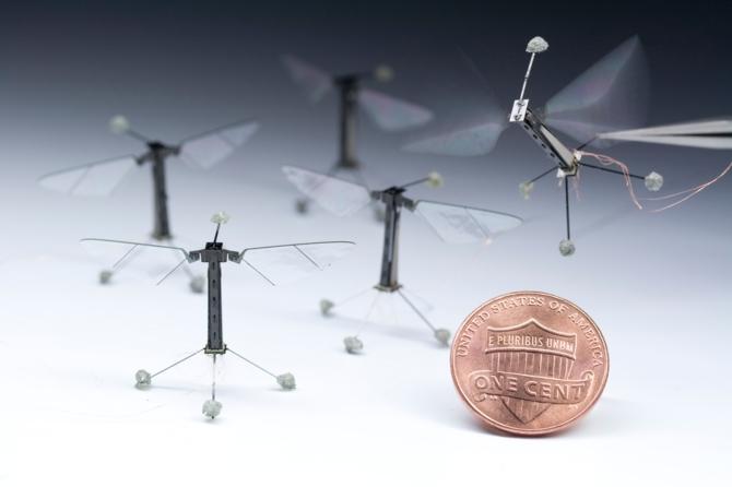 milliDelta - miniaturowy robot z Harvardu wielkości 1 centa [2]