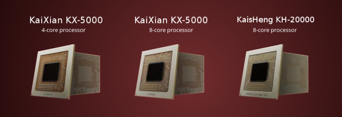 VIA Zhaoxin - premiera procesorów x86 KaiXian i KaisHeng [1]
