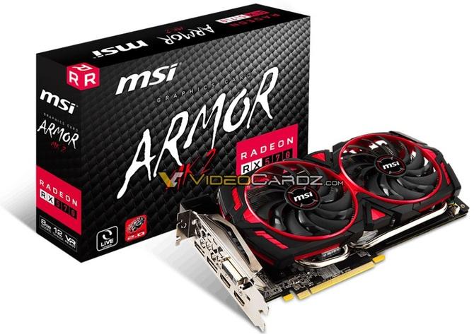 MSI przygotowuje karty Radeon RX 580 i RX 570 Armor MK2 [1]