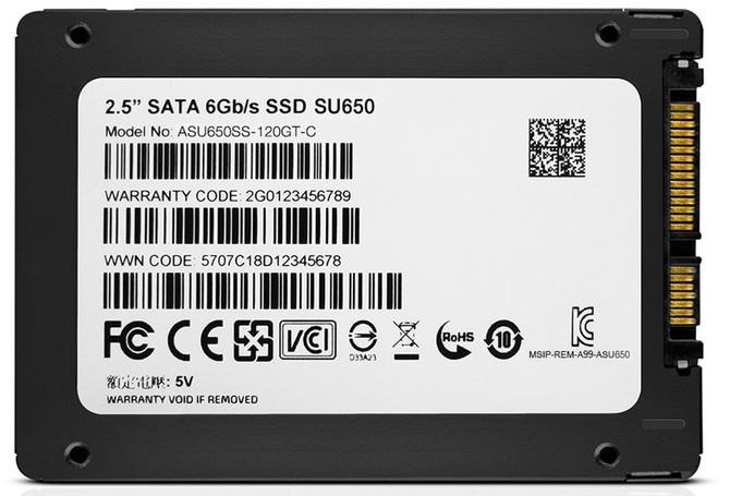 ADATA wprowadza na rynek tanie dyski SSD z serii SU650 [2]