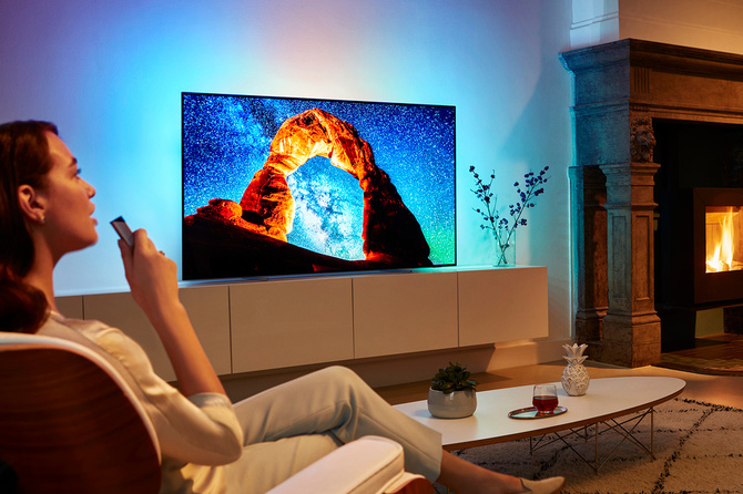 Philips zaprezentował nowe serie telewizorów OLED oraz LCD [1]