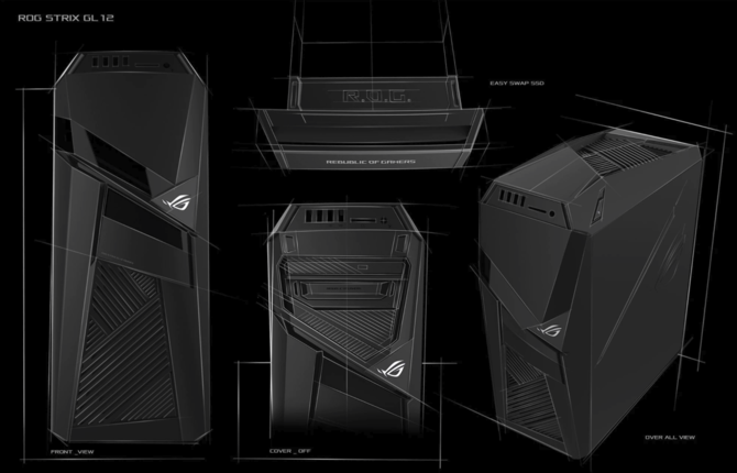 ASUS Strix GL12 - komputer oficjalnie wchodzi do sprzedaży [2]