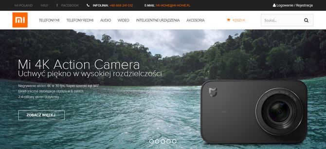 Xiaomi otwiera pierwszy w Polsce autoryzowany sklep internet [1]