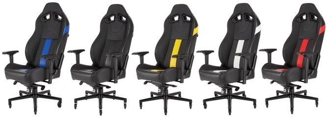 Corsair T2 ROAD WARRIOR, nowy fotel przeznaczony dla graczy [2]