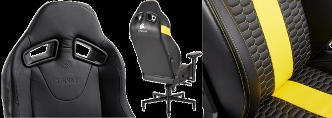 Corsair T2 ROAD WARRIOR, nowy fotel przeznaczony dla graczy [3]