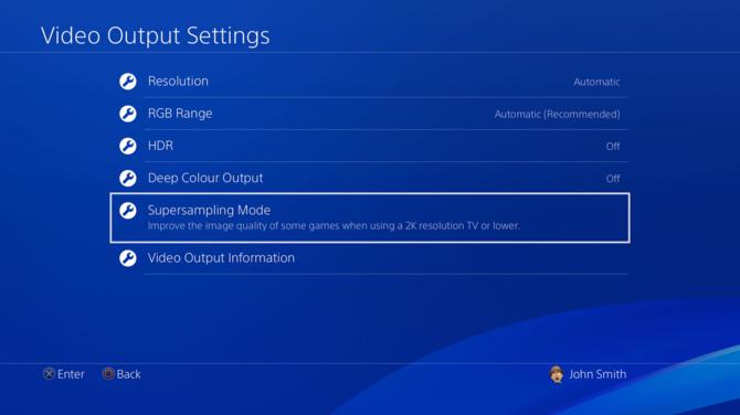 Konsola Sony PlayStation 4 Pro otrzyma tryb supersamplingu [2]