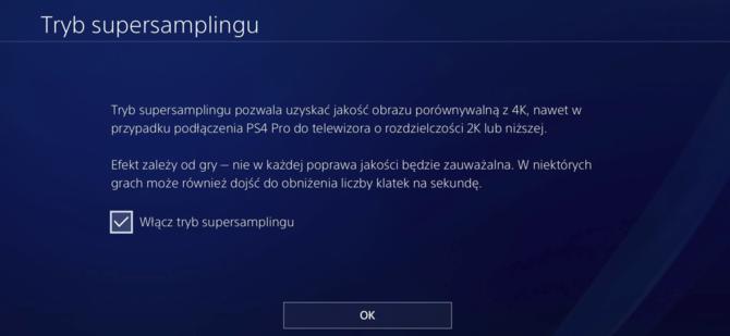 Konsola Sony PlayStation 4 Pro otrzyma tryb supersamplingu [3]