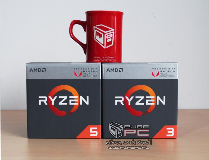 AMD Ryzen 5 2400G i Ryzen 3 2200G Zapowiedź testów na PurePC [2]
