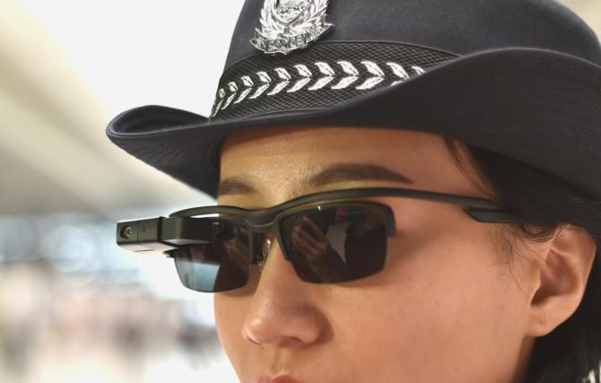 Robocop po chińsku: sztuczna inteligencja łapie przestępców [1]