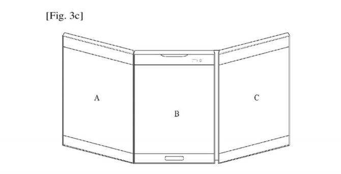 LG patentuje składanego smartfona z trzema wyświetlaczami  [1]