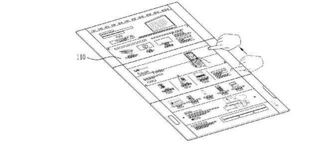 LG patentuje składanego smartfona z trzema wyświetlaczami  [5]