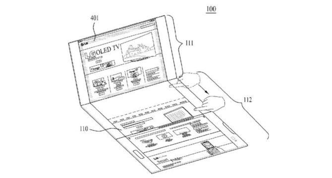 LG patentuje składanego smartfona z trzema wyświetlaczami  [6]