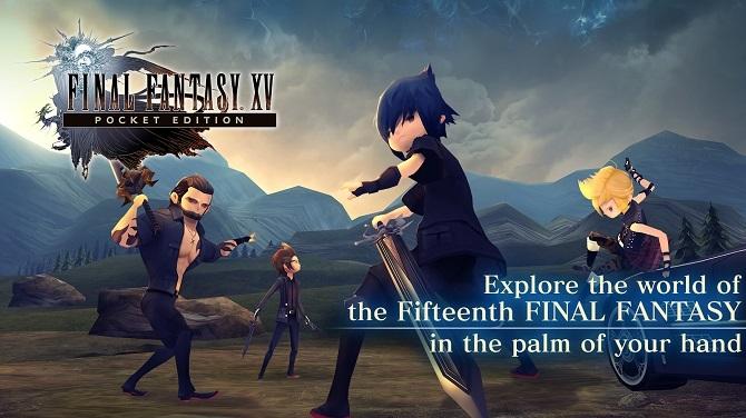 Final Fantasy XV Pocket Edition już dostępne do pobrania [1]