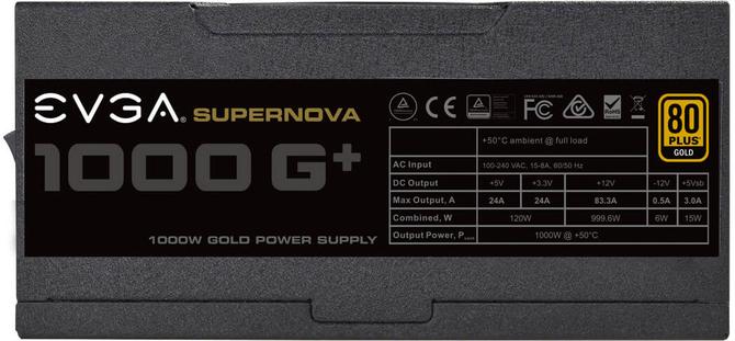 EVGA SuperNOVA G1+ - Odświeżone zasilacze z długą gwarancją [3]