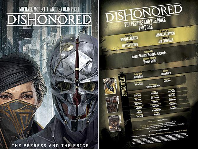 Dishonored 2: kolejne przygody Corvo Attano na łamach komisu [1]