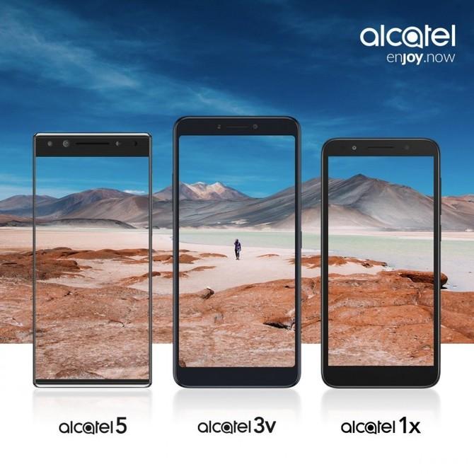 Alcatel zaprezentuje trzy nowe smartfony na targach MWC 2018 [2]