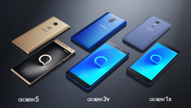 Alcatel zaprezentuje trzy nowe smartfony na targach MWC 2018 [3]