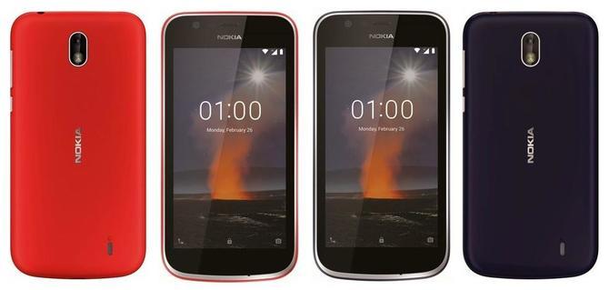 Smartfony Nokia 7 Plus i Nokia 1 na zdjęciach przed premierą [1]