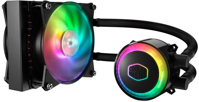 Cooler Master MasterLiquid 120R RGB - AiO z kolorowym podświ [1]