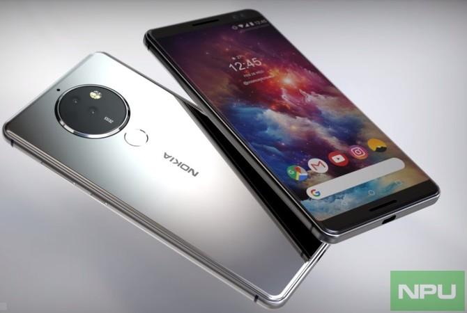 Nokia 8 Pro - flagowy smartfon z pięcioma aparatami z tyłu? [1]