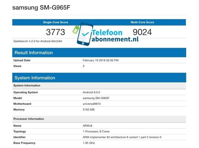 Samsung Galaxy S9 - wiemy już wszystko o nowych smartfonach [5]