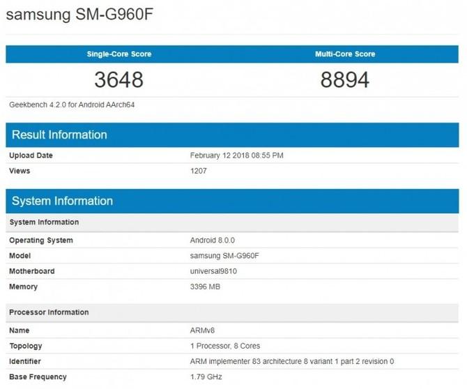 Samsung Galaxy S9 - wiemy już wszystko o nowych smartfonach [6]