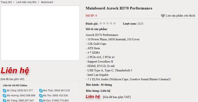 Zaczynają się pojawiać płyty z chipsetami H370, B360 i H310 [2]