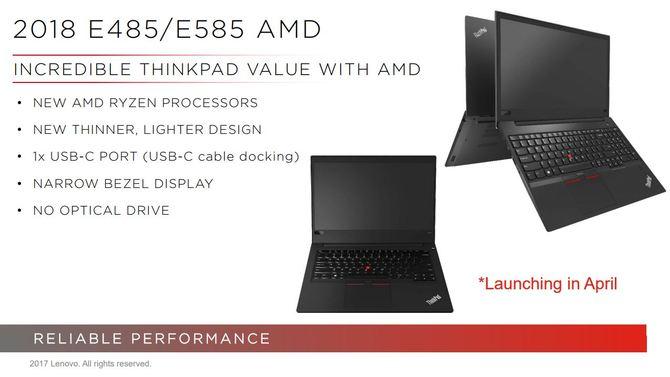 Lenovo ThinkPad z AMD Ryzen Mobile - premiera w kwietniu [1]