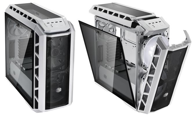 Cooler Master H500P - Biała, przewiewna obudowa z oknem [1]