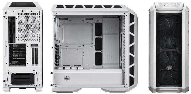 Cooler Master H500P - Biała, przewiewna obudowa z oknem [2]