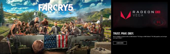 Far Cry 5 za darmo do wybranych PC z Radeon RX Vega i RX 580 [1]