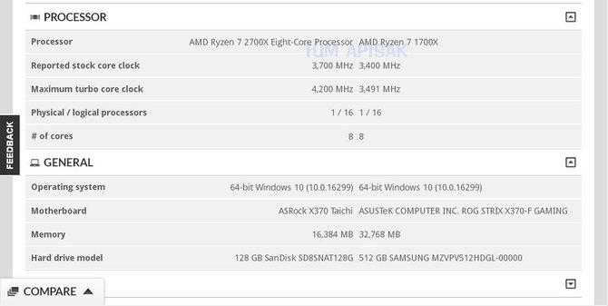 AMD Ryzen 7 2700X - poznaliśmy specyfikację procesora [1]