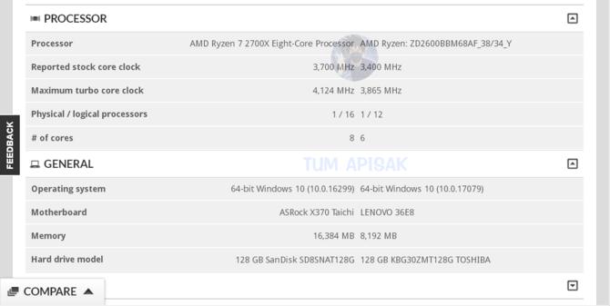 AMD Ryzen 7 2700X - poznaliśmy specyfikację procesora [2]
