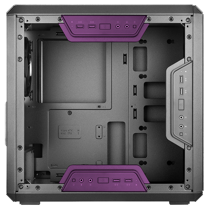 Cooler Master Q300L i Q300P - Maluchy z ruchomym panelem I/O [4]