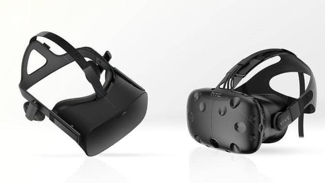 Gogle VR Oculus Rift są trochę popularniejsze od HTC Vive [1]